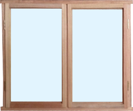 Meranti Wooden Window Frame